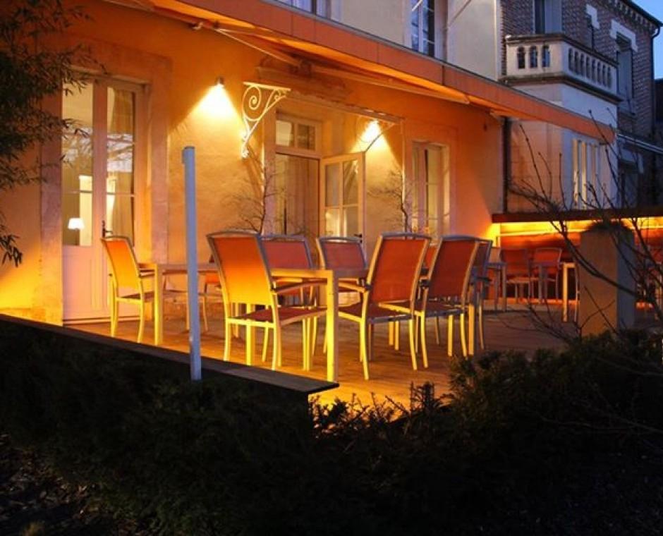 Notre restaurant gastronomique auxerre for Jardin gourmand le mans