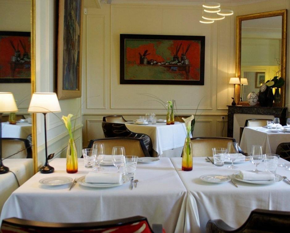Notre restaurant gastronomique auxerre for Jardin gourmand