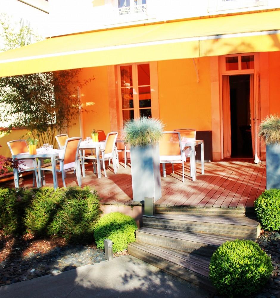 Restaurant for Jardin gourmand le mans